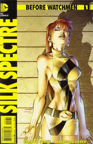Before Watchmen Silk Spectre #1 Cover E Incentive Jim Lee Variant Cover