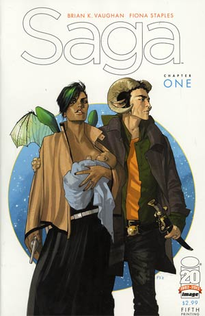 Saga #1 Cover G 5th Ptg