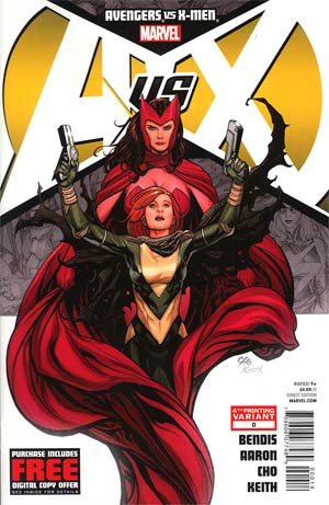 Avengers vs X-Men #0 4th Ptg Frank Cho Variant Cover