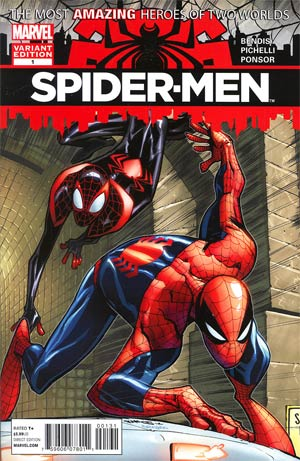 Spider-Men #1 Cover B Incentive Humberto Ramos Variant Cover
