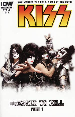 KISS Vol 2 #1 Incentive KISS Photo Variant Cover