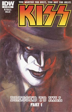 KISS Vol 2 #1 Incentive Michael Gaydos Demon Variant Cover
