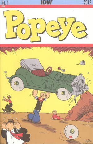 Popeye Vol 3 #1 2nd Ptg