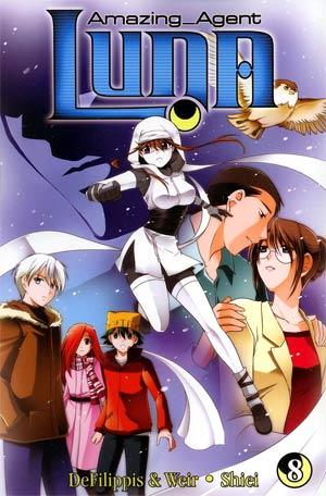 Amazing Agent Luna Vol 8 GN