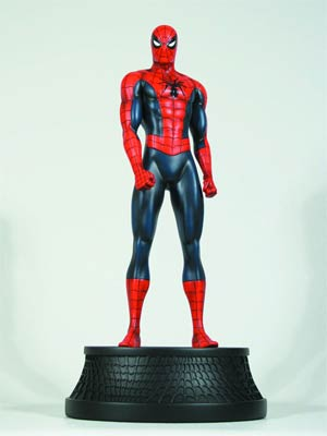 Spider-Man Red Museum Statue By Bowen