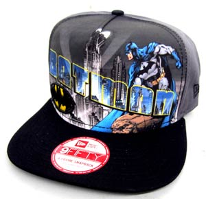 Batman Hero Post Official Snap Back Cap M/L