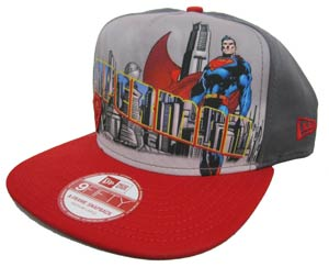 Superman Hero Post Official Snap Back Cap M/L