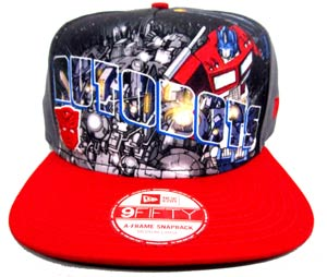 Transformers Autobots Hero Post Official Snap Back Cap M/L