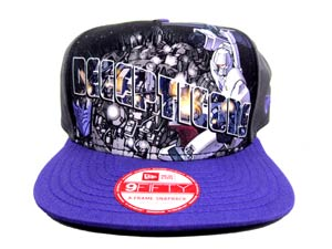 Transformers Decepticons Hero Post Official Snap Back Cap M/L