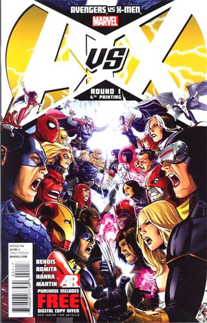 Avengers vs X-Men #1 4th Ptg Jim Cheung Variant Cover
