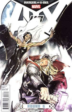 Avengers vs X-Men #6 Incentive Olivier Coipel Variant Cover