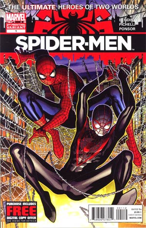 Spider-Men #1 2nd Ptg Jim Cheung Variant Cover