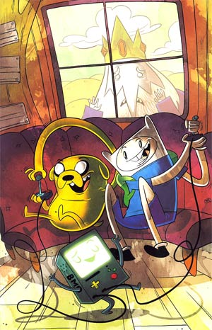 Adventure Time #5 Incentive Mike Krahulik Virgin Variant Cover