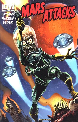Mars Attacks Vol 3 #1 Incentive John McCrea Variant Cover