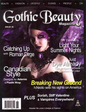 Gothic Beauty Magazine #36 2012