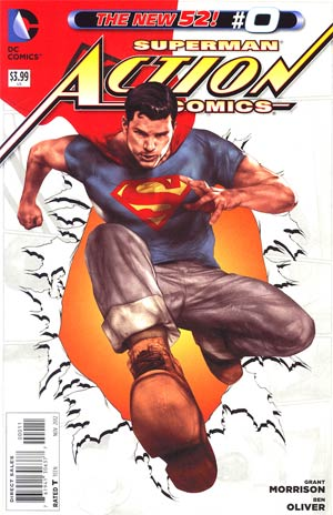 Action Comics Vol 2 #0 Cover A Regular Ben Oliver Cover