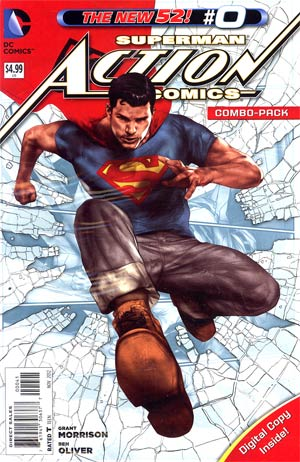 Action Comics Vol 2 #0 Combo Pack With Polybag