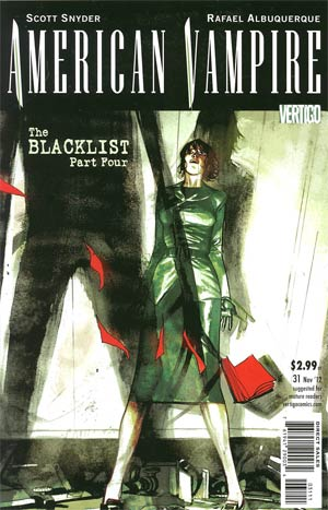 American Vampire #31 Cover A Regular Rafael Albuquerque Cover