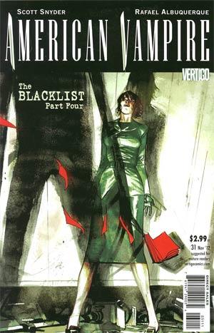 American Vampire #31 Regular Rafael Albuquerque Cover