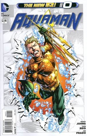 Aquaman Vol 5 #0 Regular Ivan Reis Cover