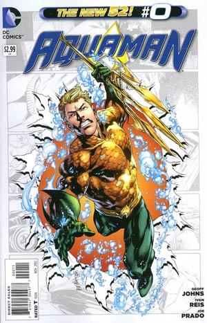Aquaman Vol 5 #0 Regular Ivan Reis Cover