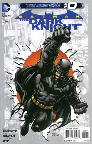 Batman The Dark Knight Vol 2 #0 Regular David Finch Cover
