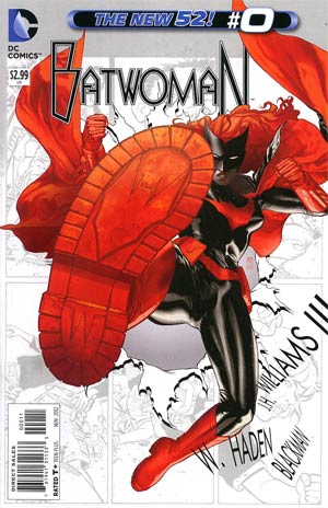 Batwoman #0 Regular JH Williams III Cover