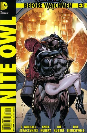 Before Watchmen Nite Owl #3 Regular Andy Kubert Cover