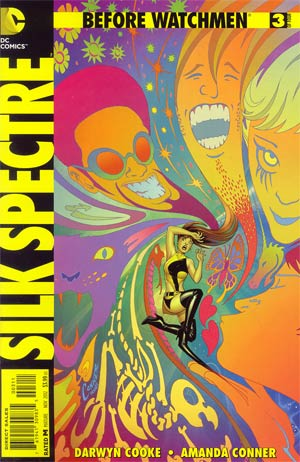 Before Watchmen Silk Spectre #3 Regular Amanda Conner Cover
