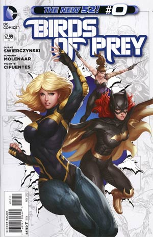 Birds Of Prey Vol 3 #0