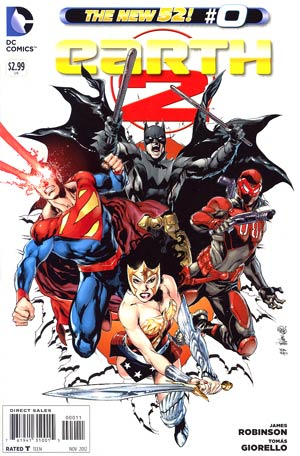 Earth 2 #0 Regular Ivan Reis Cover