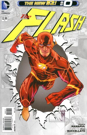 Flash Vol 4 #0 Regular Francis Manapul Cover