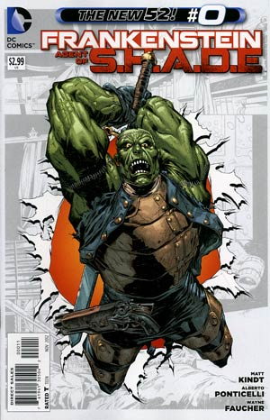 Frankenstein Agent Of S.H.A.D.E. #0