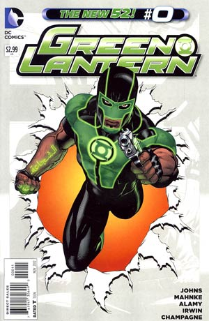 Green Lantern Vol 5 #0 Regular Doug Mahnke Cover