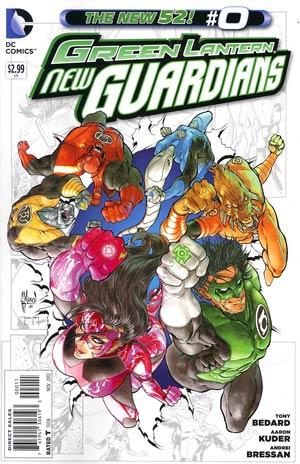 Green Lantern New Guardians #0 Regular Guillem March Cover