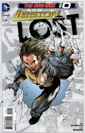 Legion Lost Vol 2 #0