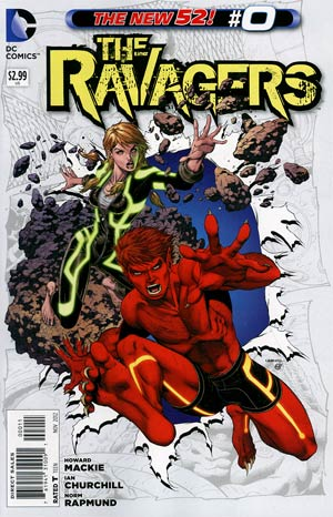 Ravagers #0