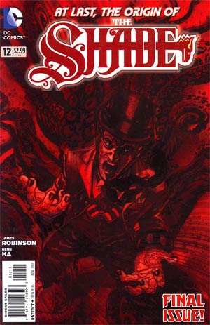 Shade Vol 2 #12 Regular Tony Harris Cover