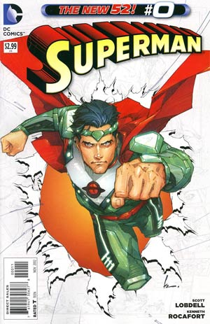 Superman Vol 4 #0 Regular Kenneth Rocafort Cover