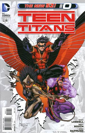 Teen Titans Vol 4 #0 Regular Brett Booth Cover