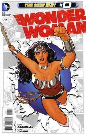 Wonder Woman Vol 4 #0 Regular Cliff Chiang Cover