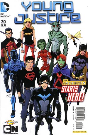 Young Justice Vol 2 #20