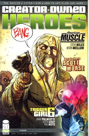 Creator-Owned Heroes #4 Cvr A