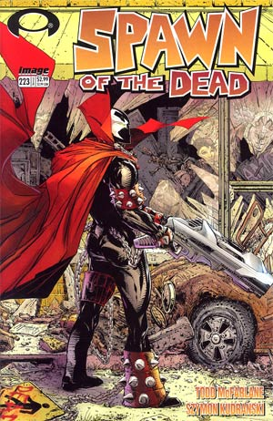 Spawn #223 Regular Todd McFarlane Cover