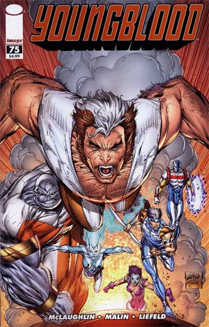 Youngblood Vol 4 #75 Cover B Rob Liefeld & Todd McFarlane