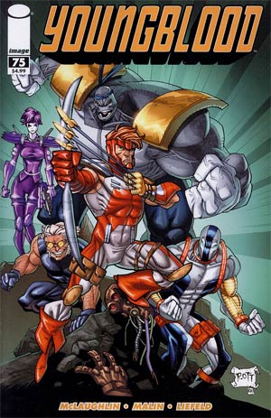 Youngblood Vol 4 #75 Cover D Ryan Ottley