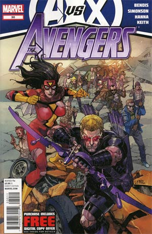 Avengers Vol 4 #30 (Avengers vs X-Men Tie-In)