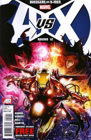 Avengers vs X-Men #12 Regular Jim Cheung Cover