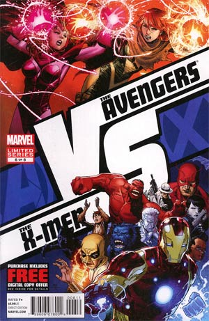 AVX VS #6 Regular Jim Cheung Cover (Avengers vs X-Men Tie-In)