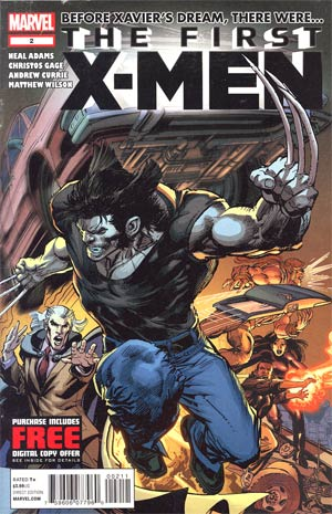 First X-Men #2 Regular Neal Adams Cover
